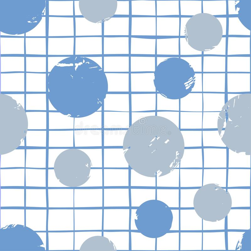 抽象无缝的传染媒介背景学校线汇集 向量例证