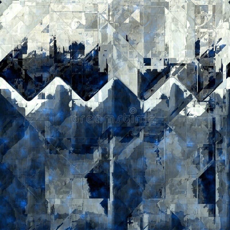 抽象无缝的背景 库存例证