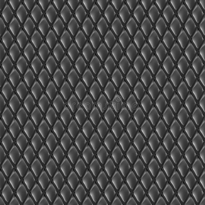 抽象无缝的金刚石样式 库存例证