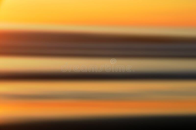 抽象日落 库存照片