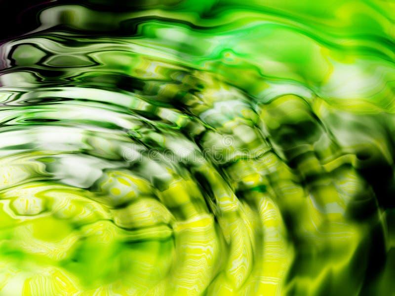 抽象明亮的水 向量例证