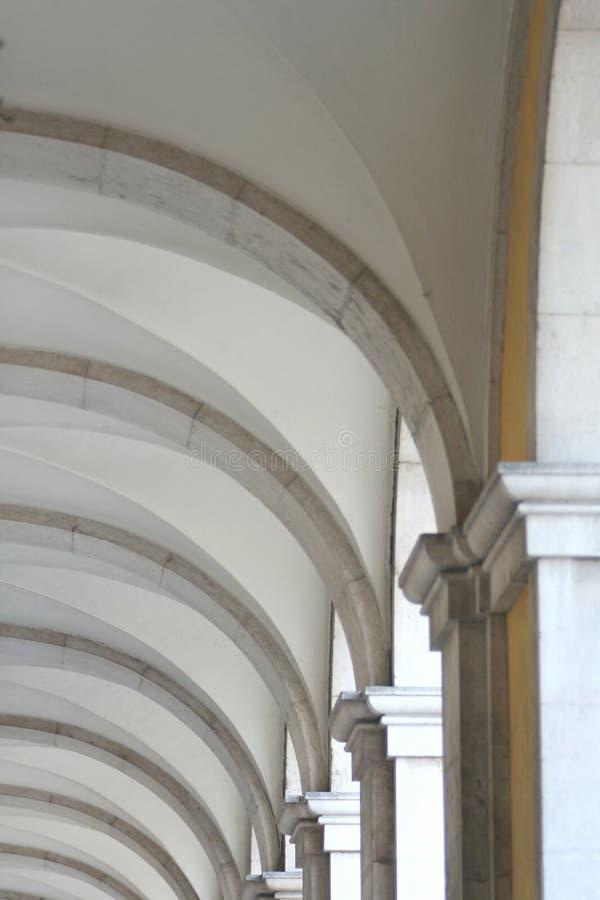 抽象曲拱 免版税库存照片