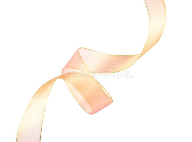 抽象曲线丝带 免版税图库摄影