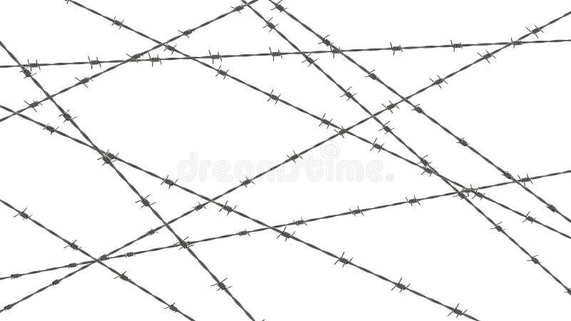 抽象有刺的概念设计例证电汇 向量例证