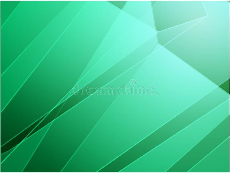 抽象有角水晶设计 向量例证