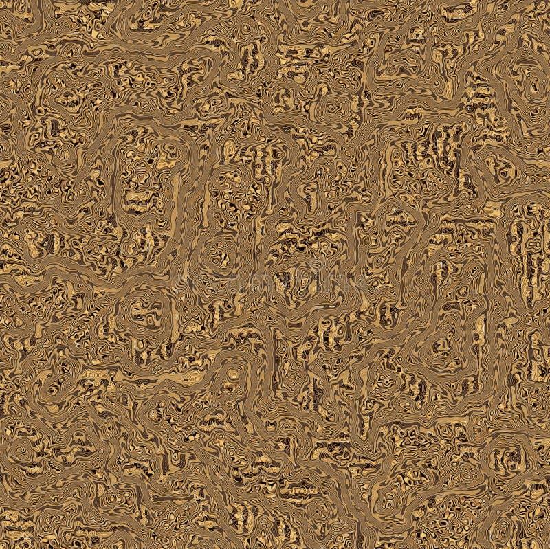 抽象木五谷漩涡背景 库存照片