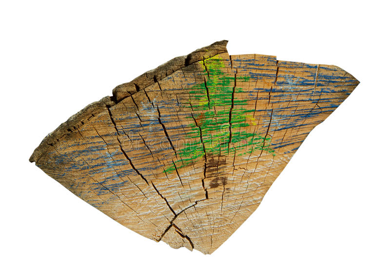 抽象木柴 库存照片