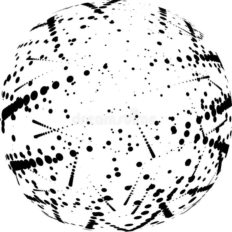 抽象构成 库存例证