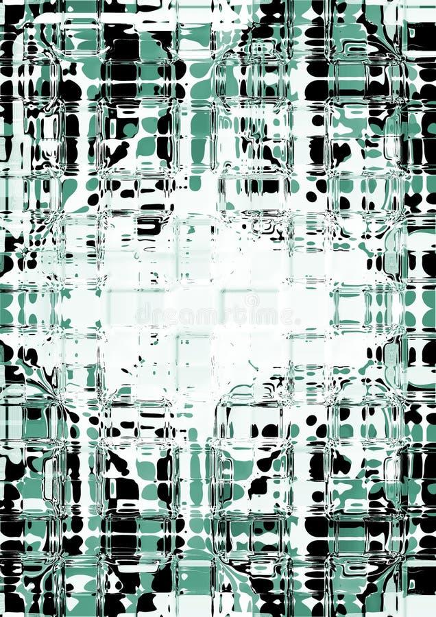 抽象构成 向量例证