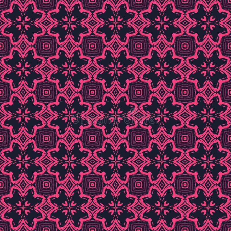 抽象样式背景几何传染媒介 库存例证