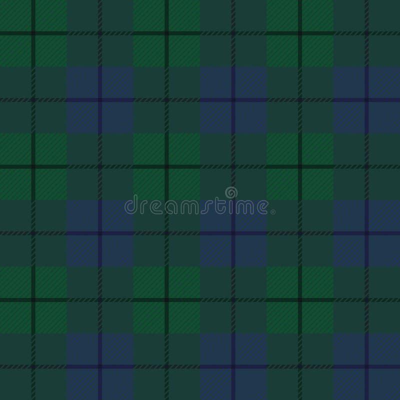 抽象格子花呢披肩苏格兰人 皇族释放例证