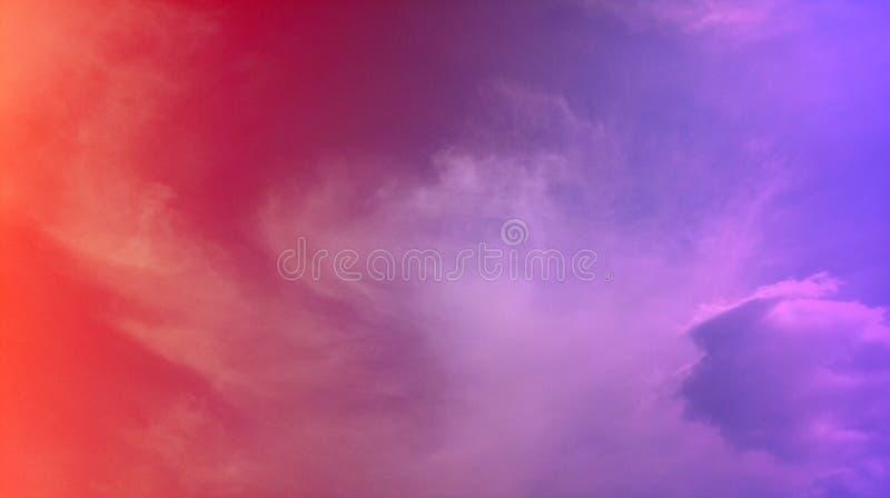 抽象桃子颜色,婴孩蓝色,混合物多颜色作用背景 免版税库存照片