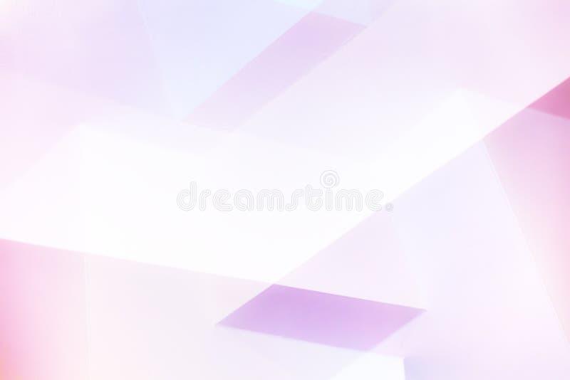 抽象桃红色几何背景 向量例证