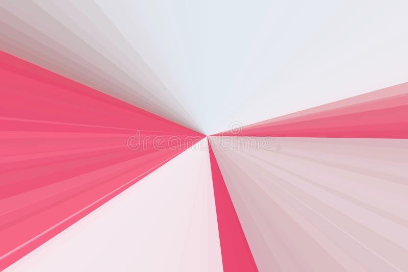 抽象桃红色焕发发出光线背景 五颜六色的条纹射线样式 时髦的例证现代趋向颜色 免版税库存图片
