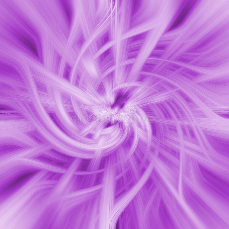 抽象桃红色螺旋 库存图片