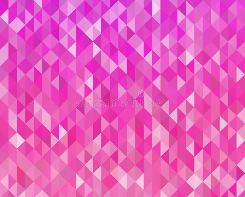 抽象桃红色颜色背景 向量例证