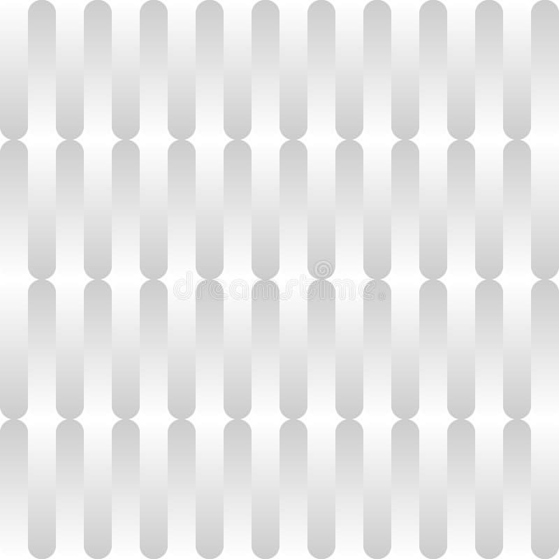 抽象梯度条纹线背景 白色和灰色颜色垂直的样式线  r 向量例证