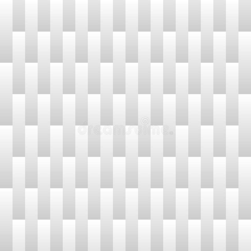 抽象梯度条纹线背景 白色和灰色颜色瓦片垂直的样式线  r 库存例证