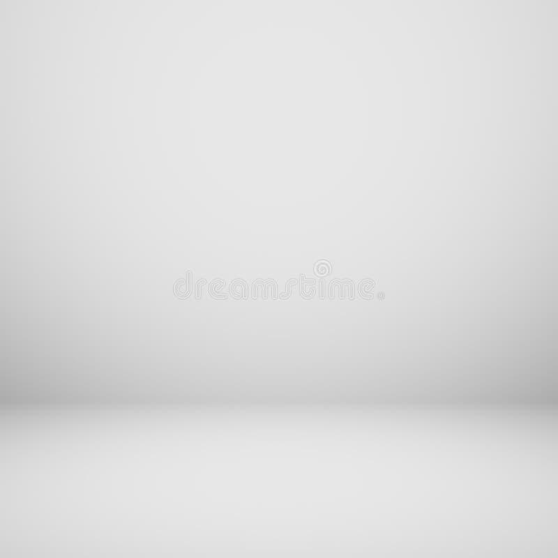 抽象梯度灰色室-展示您的产品 向量例证