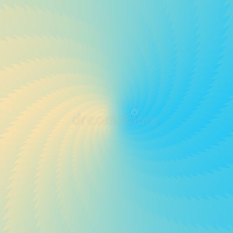 抽象梯度蓝色和白色传染媒介背景 免版税库存图片