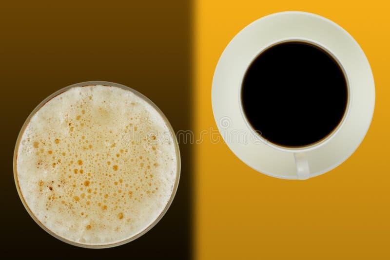 抽象棒咖啡 免版税库存照片