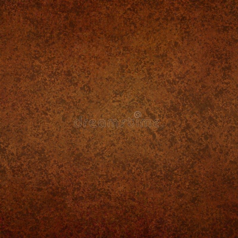 抽象棕色背景葡萄酒纹理 库存例证