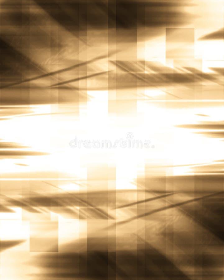 抽象棕色背景 库存例证
