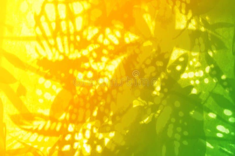 抽象植物群模式 皇族释放例证