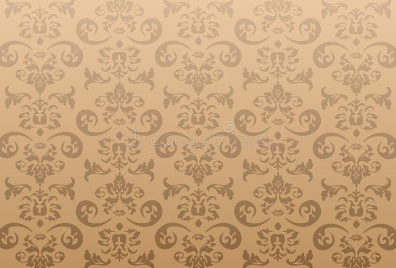 抽象模式向量墙纸 库存例证