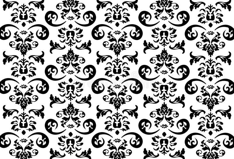 抽象模式向量墙纸 向量例证