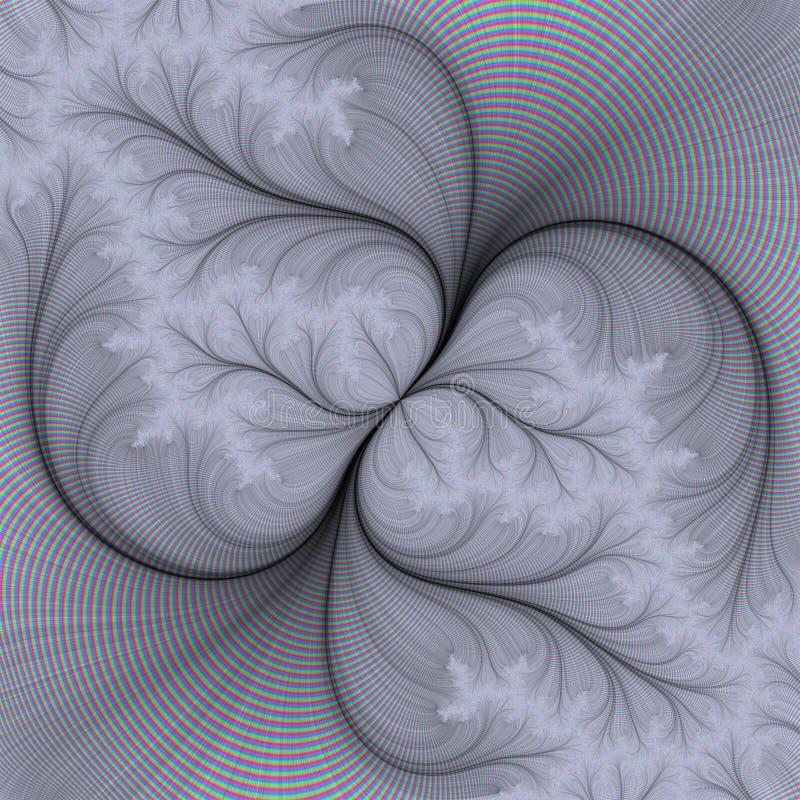 抽象模式 皇族释放例证