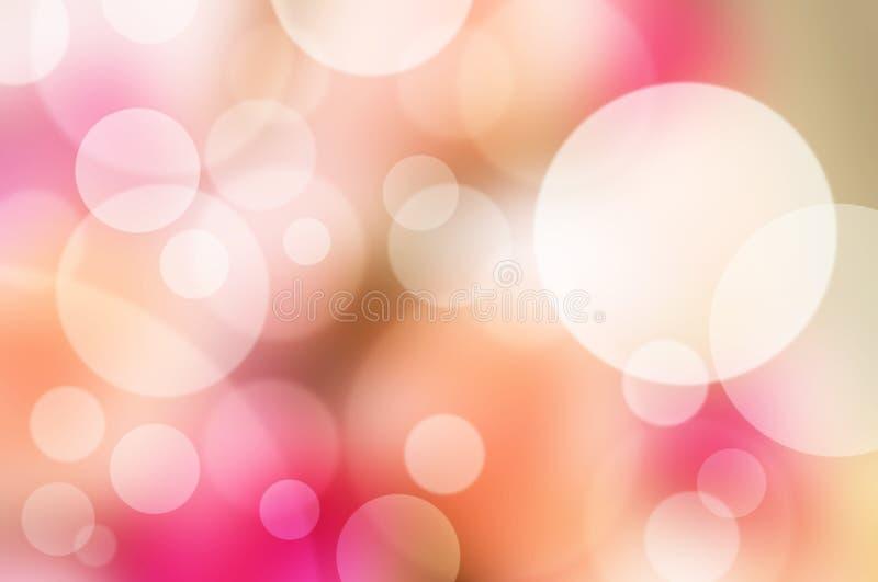 抽象模糊的桃红色背景 免版税库存图片