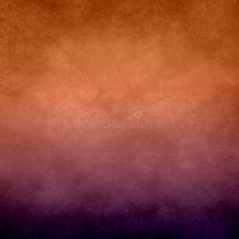 抽象橙色和紫色背景 库存照片