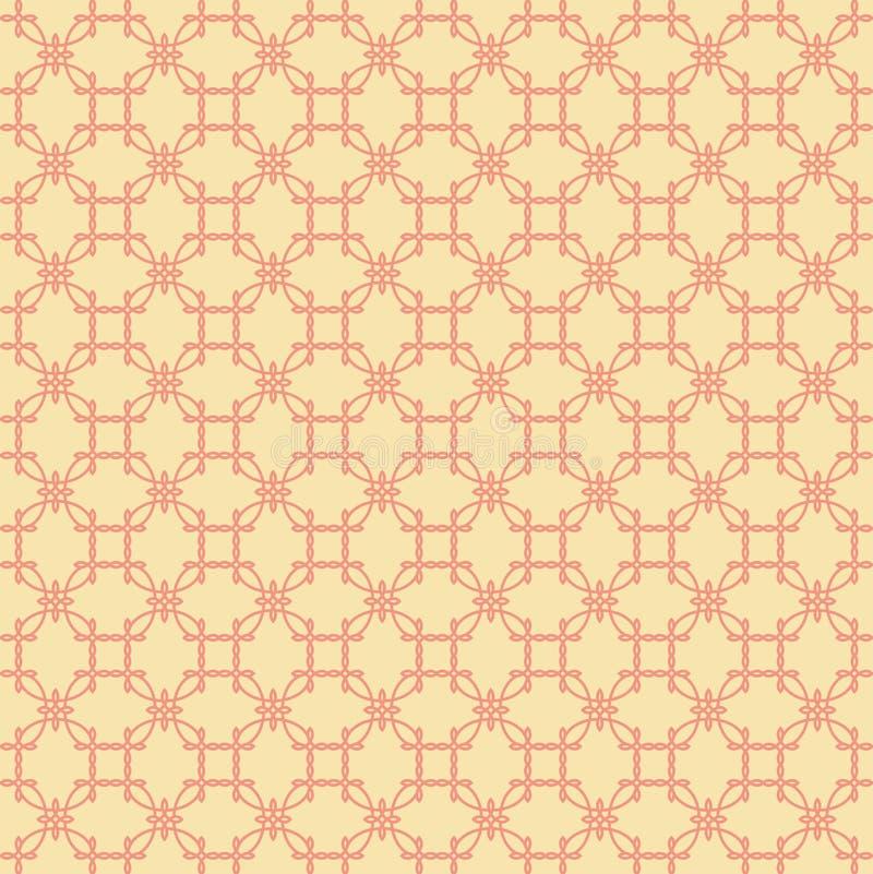 抽象橙色模式 图库摄影