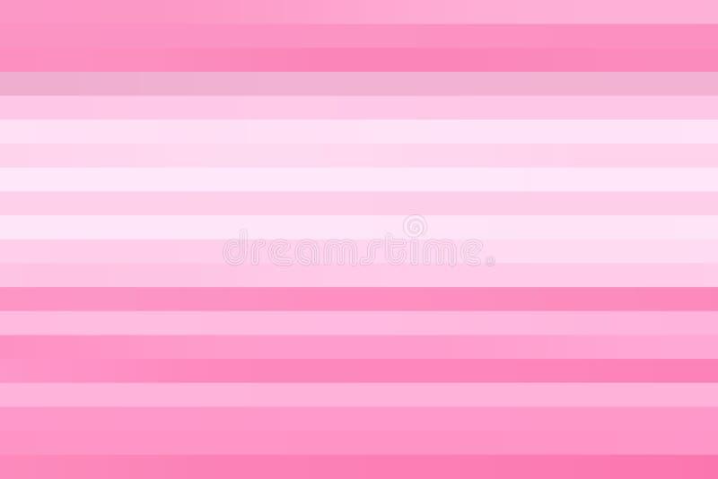 抽象水平的桃红色和白线条乐团纹理背景 库存图片