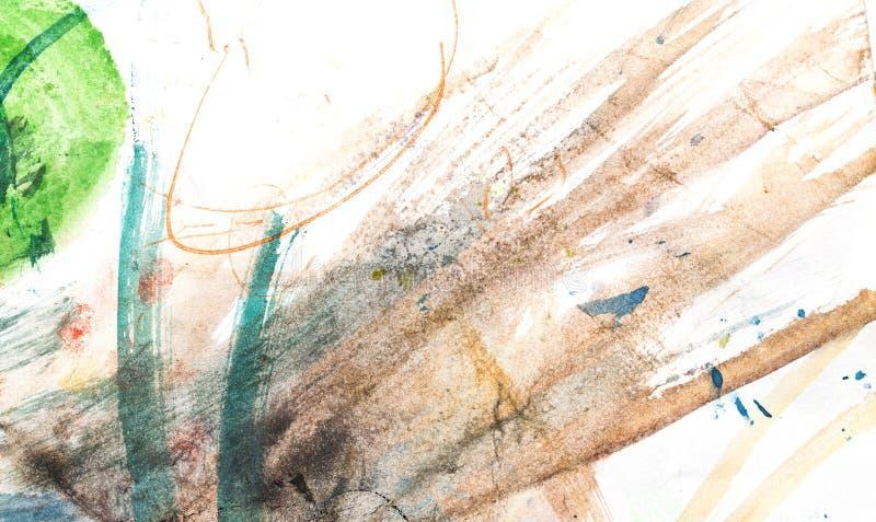 抽象水彩喜欢背景 免版税库存图片