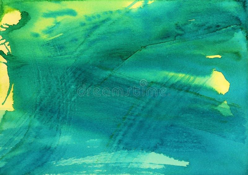 抽象水彩背景 向量例证