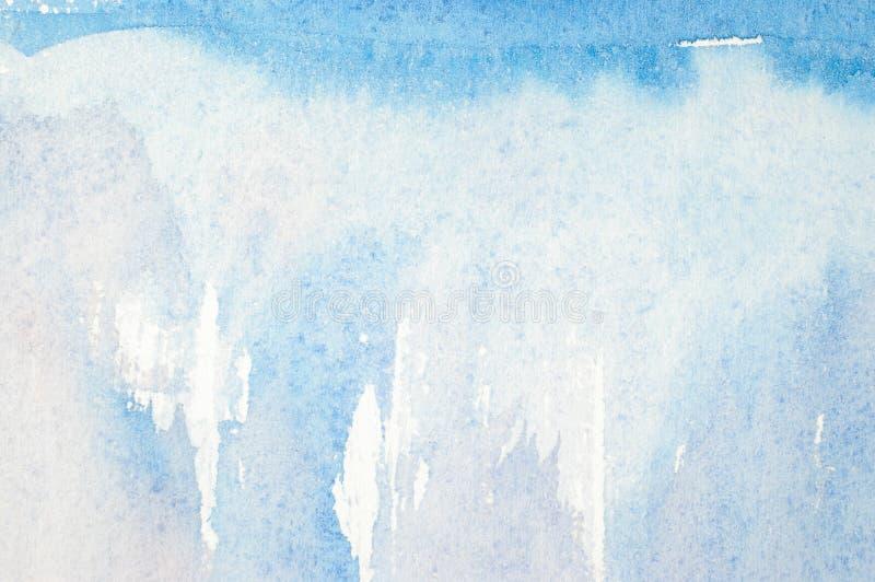 抽象水彩背景 免版税图库摄影