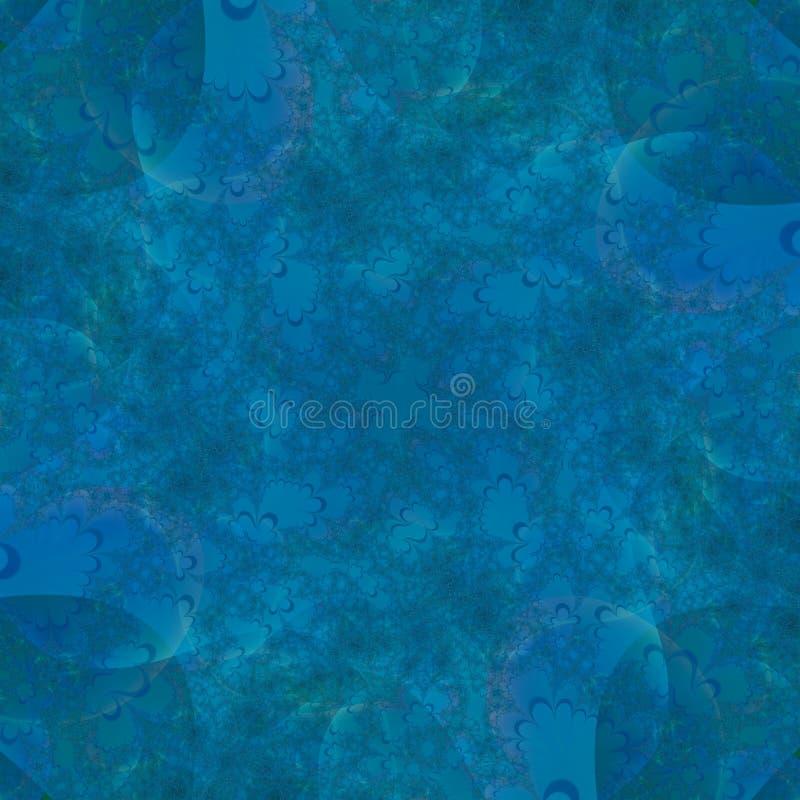 抽象水色背景蓝色设计tempalte 向量例证