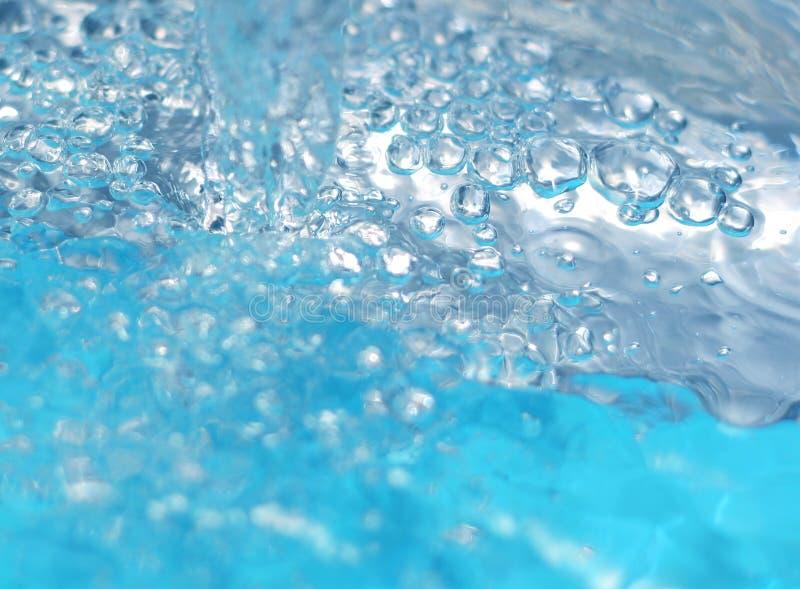 抽象水 免版税库存照片