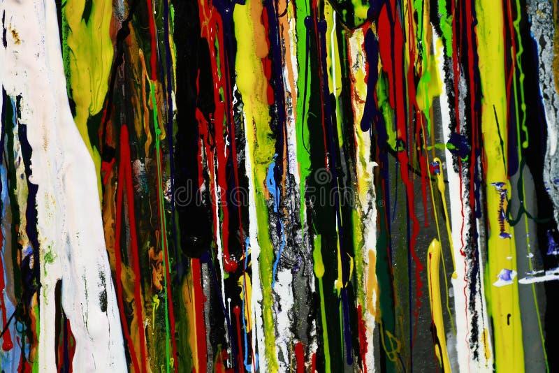 抽象油漆上色背景 库存图片
