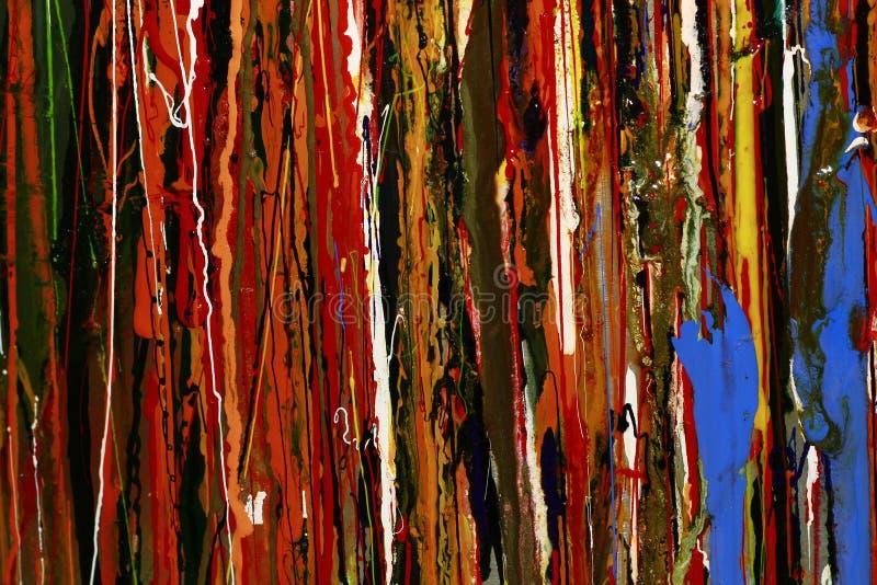 抽象油漆上色背景 免版税库存图片