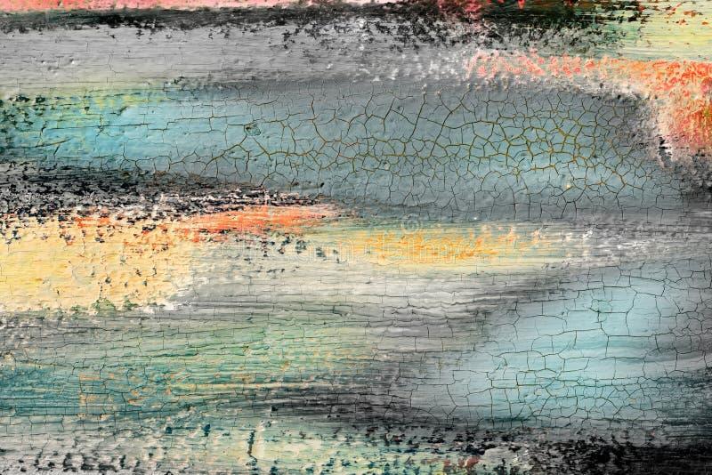 抽象油漆背景 库存图片