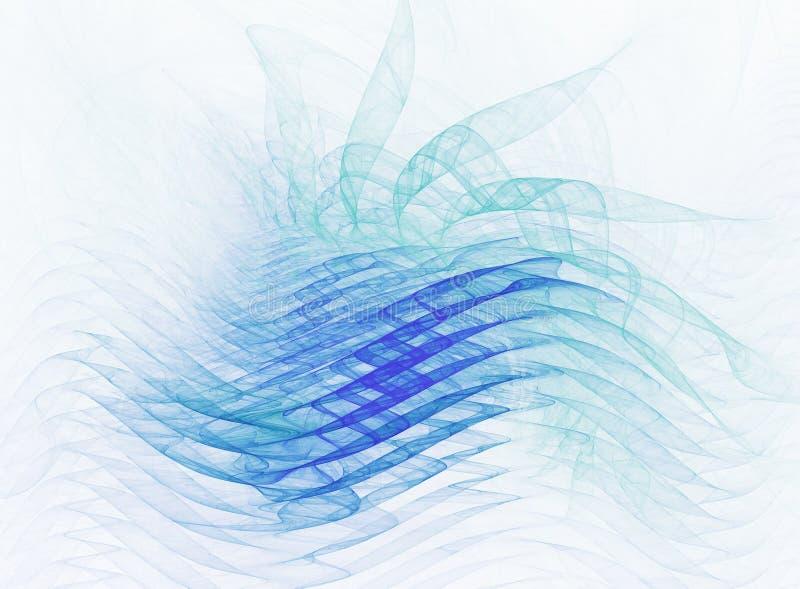 抽象波形形式 皇族释放例证