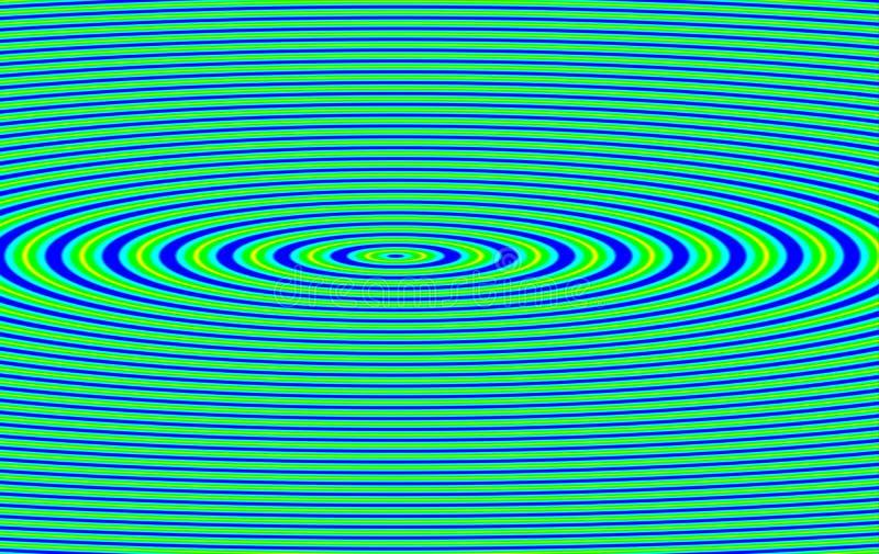 抽象波纹振动 皇族释放例证