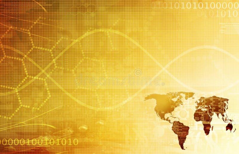 抽象派背景企业全球纹理 向量例证