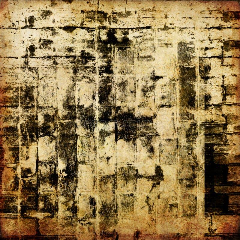 抽象派背景图象grunge纹理 皇族释放例证