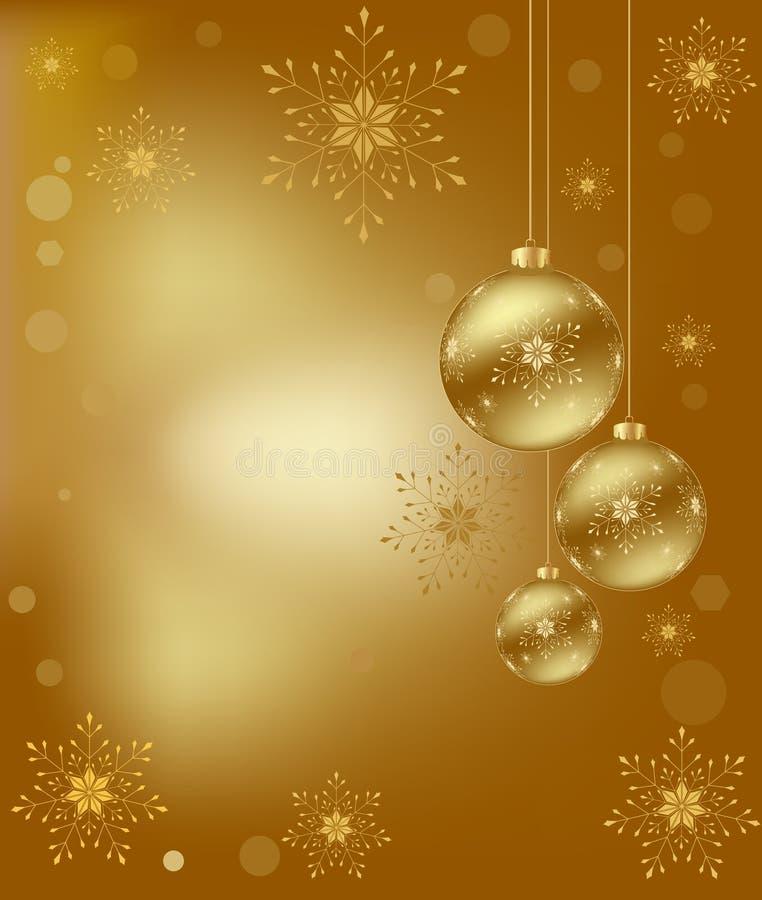抽象派背景圣诞节设计 库存例证
