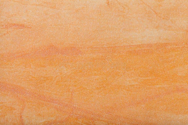 抽象派背景淡桔色的颜色 在帆布的多色绘画 艺术品的片段 纹理背景 装饰琥珀 库存照片