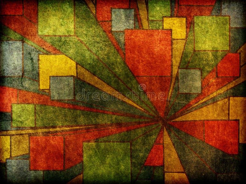抽象派背景现代设计的图象 向量例证